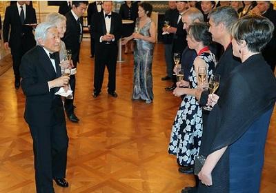 米プリツカー賞の授賞式典に出席された天候皇后両陛下