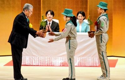 第27回森と花の式典―「みどりの感謝祭」式典秋篠宮両殿下
