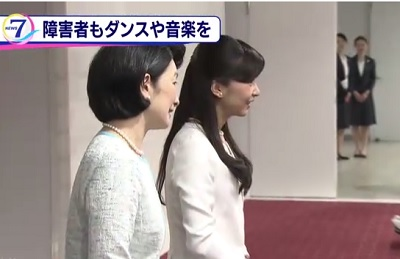 紀子さまと佳子さま 障害者ダンス大会に出席、その4