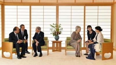 両陛下ベトナム首相と会見