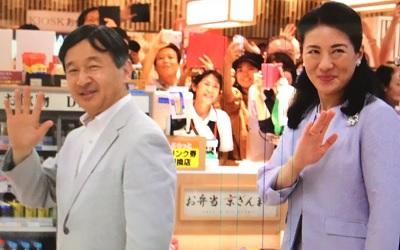 近鉄から新幹線ホームへ移動皇太子と雅子さま