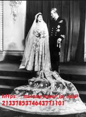 エリザベス女王結婚式