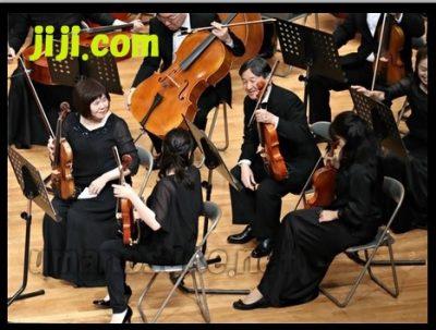学習院管弦楽団演奏会にでられた皇太子殿下