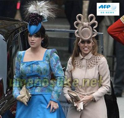ベアトリス王女とユージーン王女