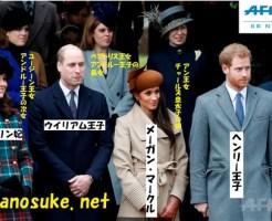 メーガン・マークルイギリス王室のクリスマス