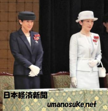 雅子さま紀子さま日赤全国大会