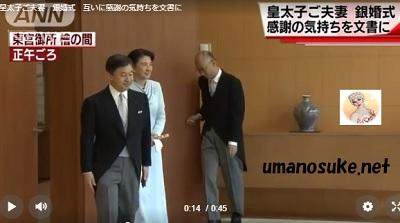 皇太子と雅子さま銀婚式