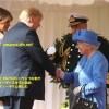 エリザベス女王がトランプ夫妻に会ってあげる