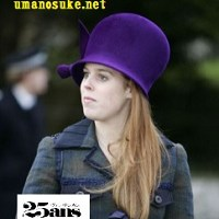 30歳になったベアトリス王女の奇抜な帽子コレクション