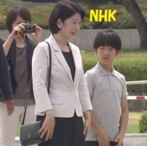 悠仁さま紀子さま平和学習で広島訪問