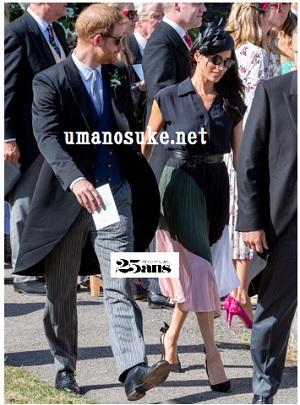 ヘンリー王子とメーガン、友人の結婚式に出席