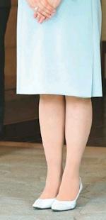 雅子さまの足