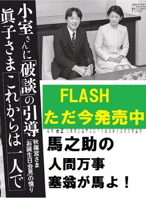 Flash眞子さま