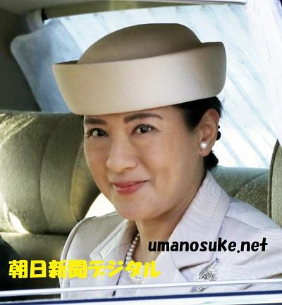 昭和天皇しのぶ30年式年祭皇居に入る雅子さま=7日午前8時31分、