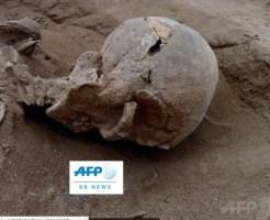 1万年前の人骨