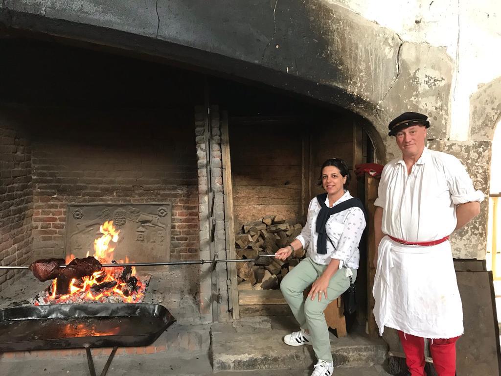 Sunday roast, Hampton Court Palace, Henry VIII