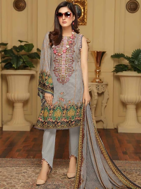 Florence Digital Lawn Collection 2020 Vol-22