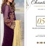 Chantelle Embroidered Chiffon Collection Vol-05 (D-05B)-gallery
