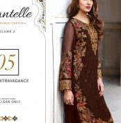 Chantelle Embroidered Chiffon Collection Vol-05 (D-05C)