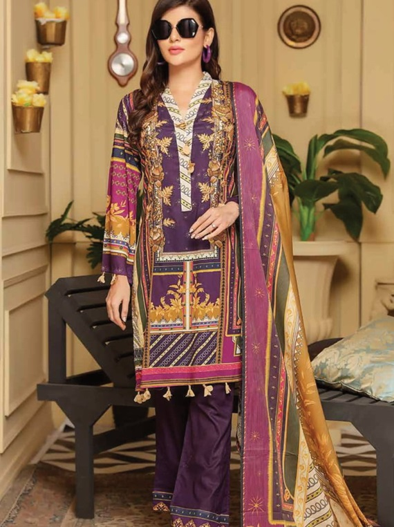 Florence Embroidered Lawn Summer Collection VOL-29