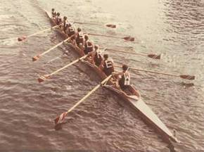 Aggies at the 1980 Head of the Charles Regatta