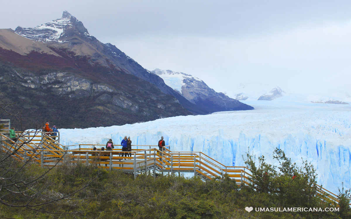 Glaciar Perito Moreno - Como chegar nas passarelas