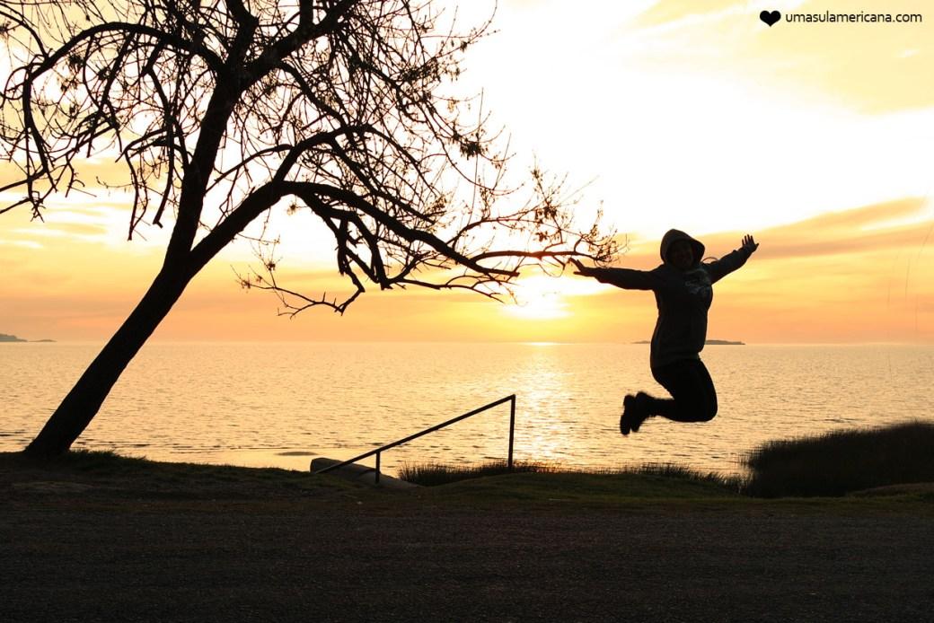 Como fotografar o pôr do sol e o nascer do sol nas viagens - Silhuetas