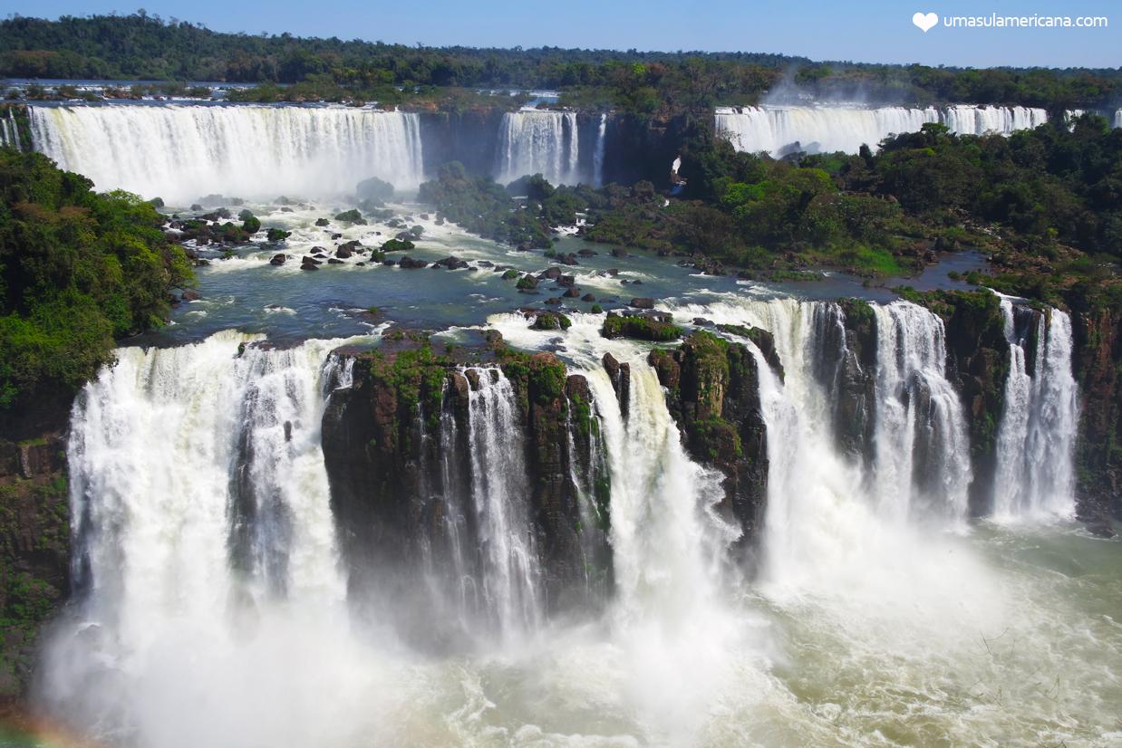 Cataratas do Iguaçu - Brasil x Argentina