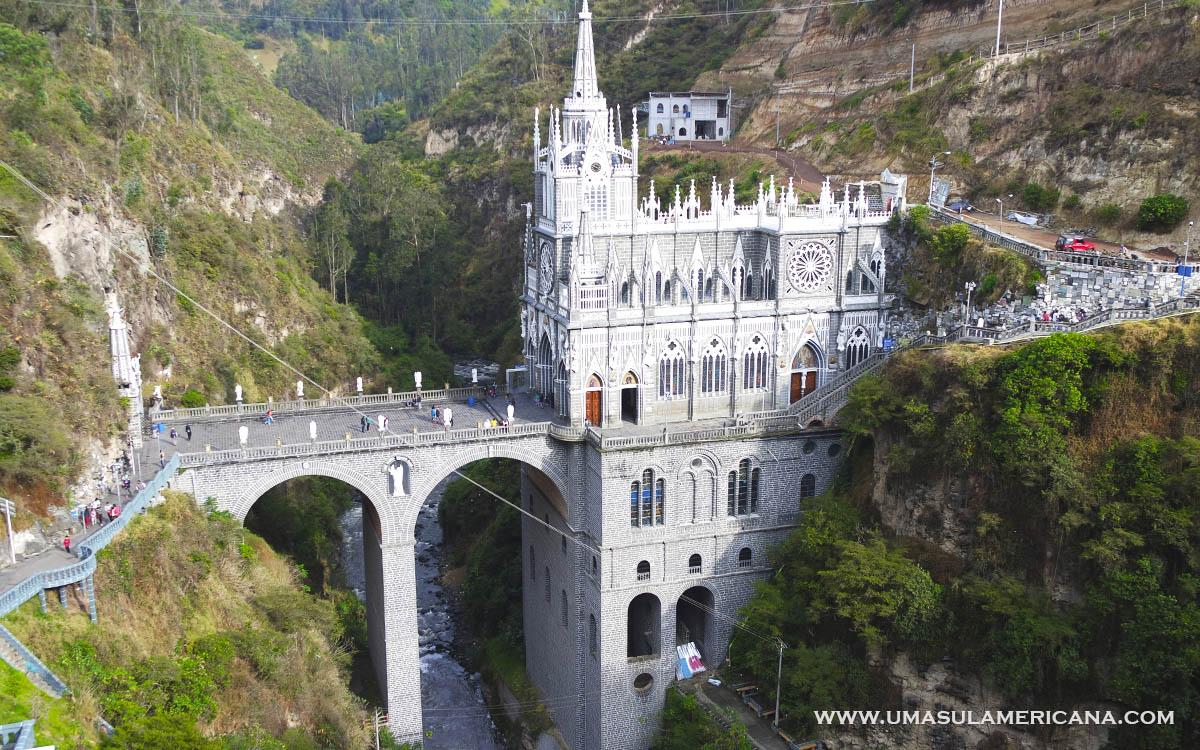 Santuário de Las Lajas, Ipiales - Na fronteira da Colômbia com o Equador