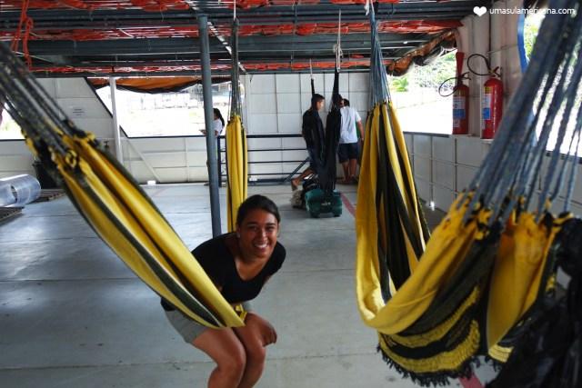 Travessia Tabatinga - Manaus em barco