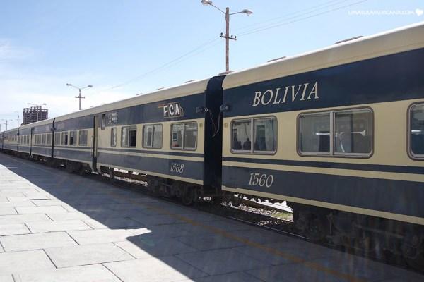 De Uyuni a Oruro por trem - e até La Paz em ônibus