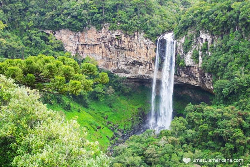 Cascata do Caracol em Canela - Como oi minha experiência de viajar sozinha pela primeira vez