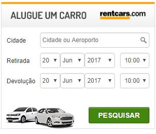 RentCars - Aluguel de carro com até 60% off