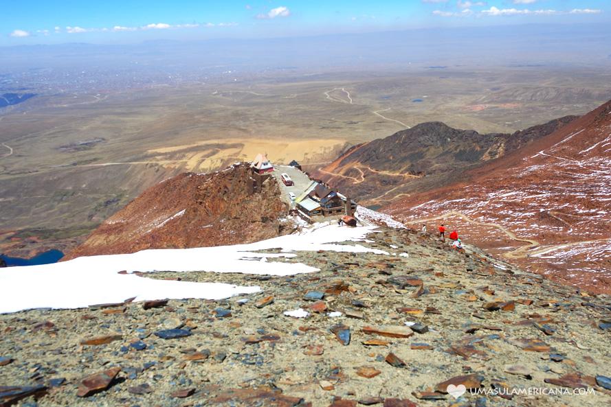 Opções do roteiro Peru, Bolívia e Chile (10, 15, 20, 25 e 30 dias) Chacaltaya - La Paz