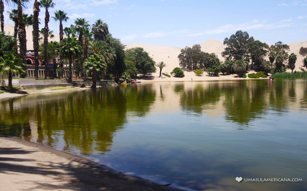 Huacachina, no deserto do Peru - Oásis da América