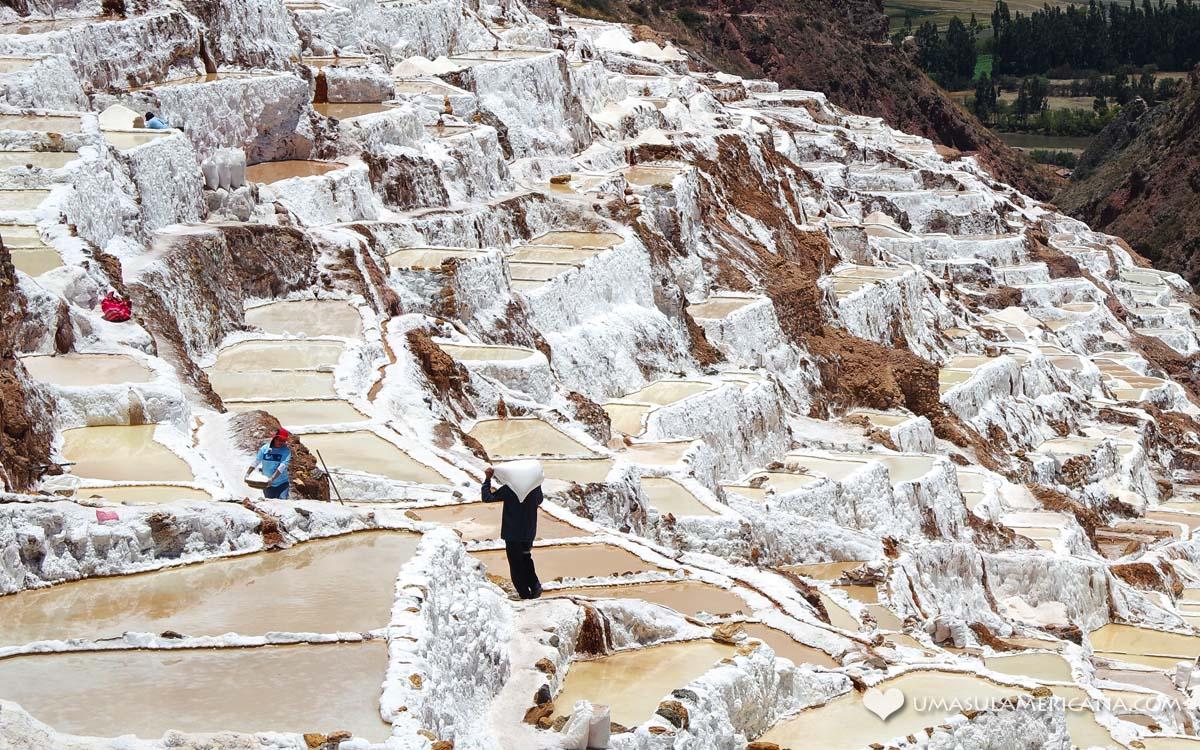 Maras, as salineras do Vale Sagrado dos Incas - Peru