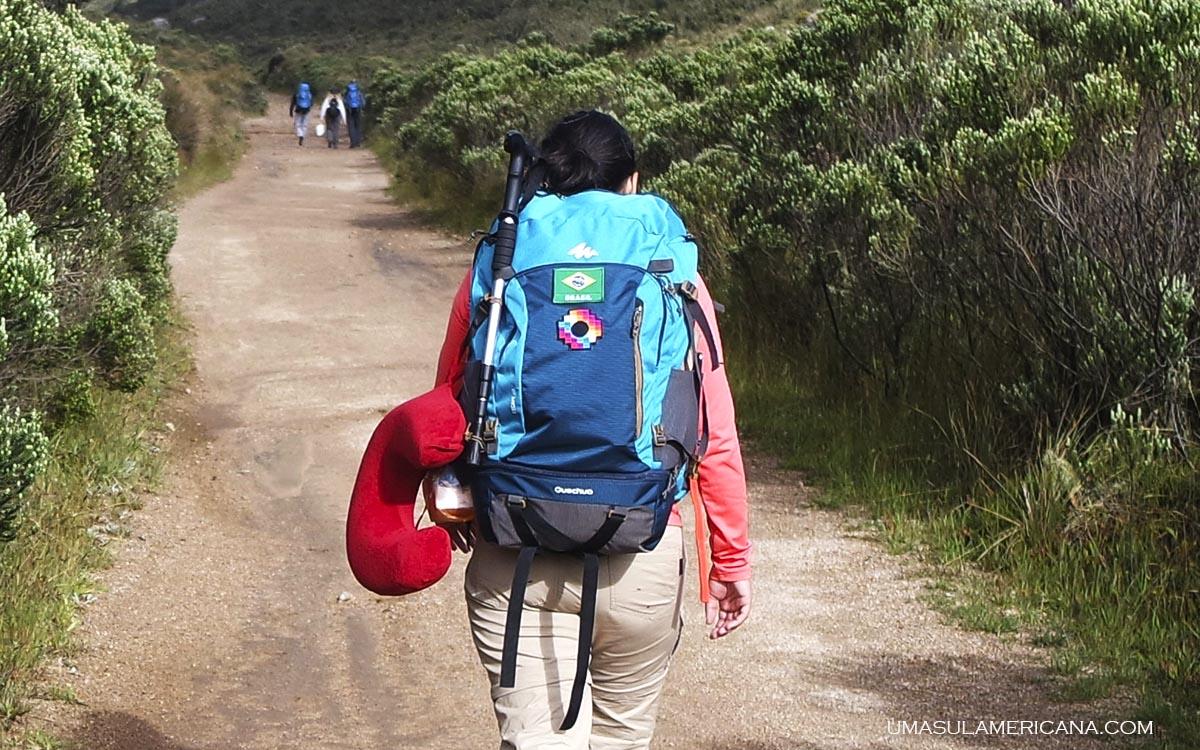 506547414 Escape 50L da Quechua - Review da mochila de viagem feminina