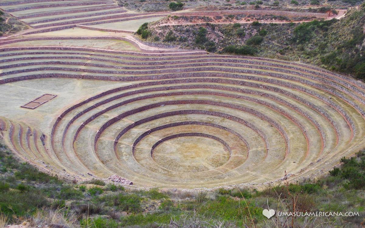 Moray - Vale Sagrado dos Incas - Peru