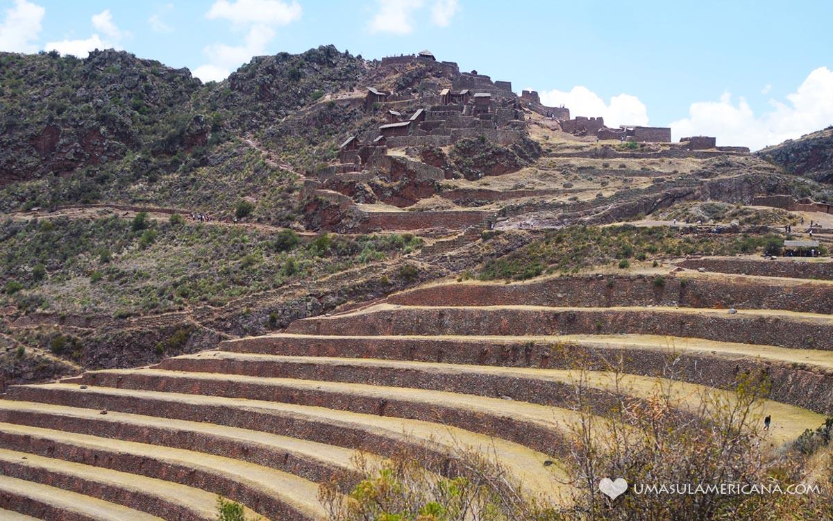 Pisac - Vale Sagrado dos Incas, no Peru