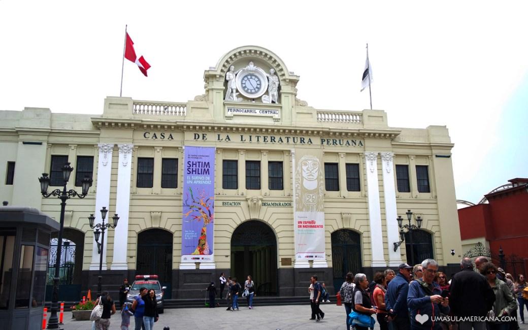 Casa de La Literatura Peruana - Um dia em Lima - Roteiro pelo centro histórico