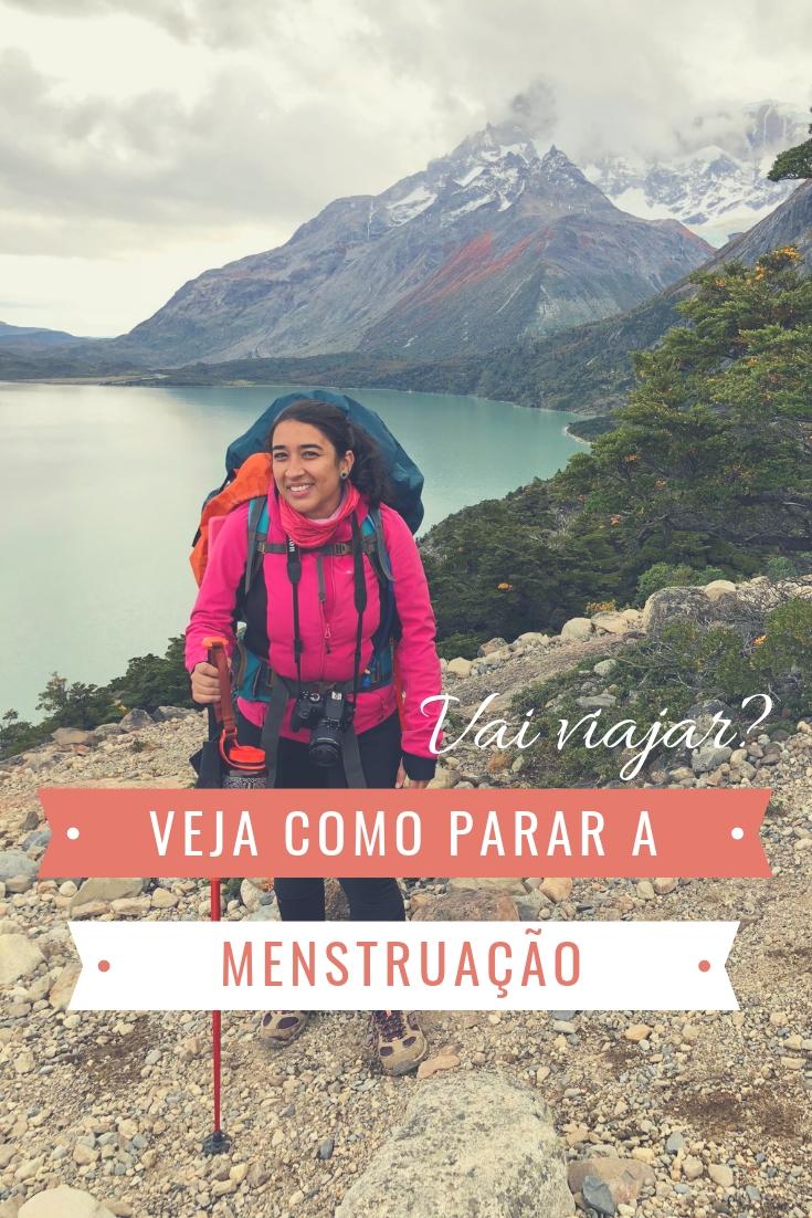 Como parar a menstruação para viajar