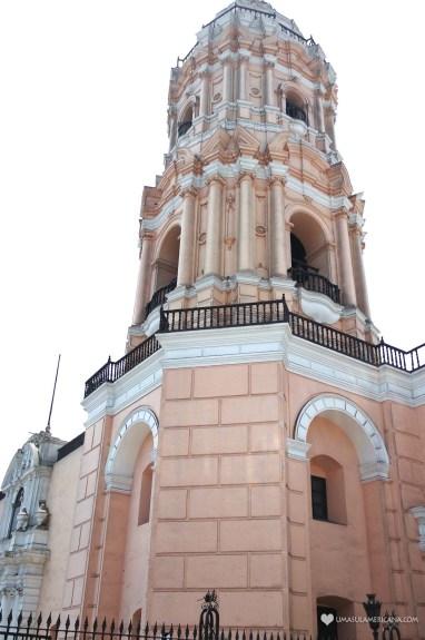 Basílica de Santo Domingo - Um dia em Lima - Roteiro pelo centro histórico