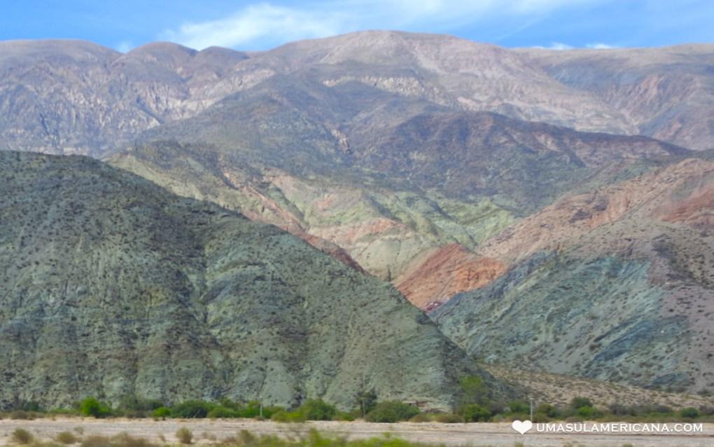 Montanhas Coloridas da América do Sul - Cerro de Los Siete Colores - Purmamarca