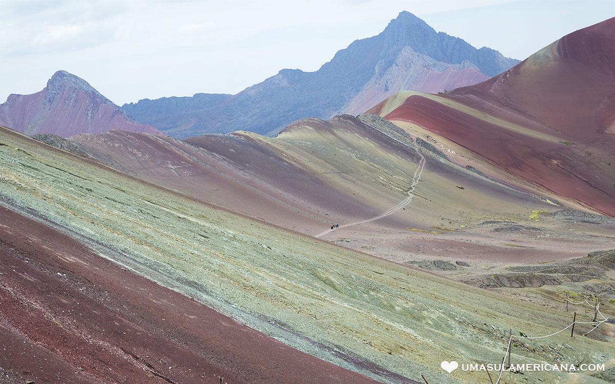 Montanhas Coloridas da América do Sul - Vinicunca - Cusco