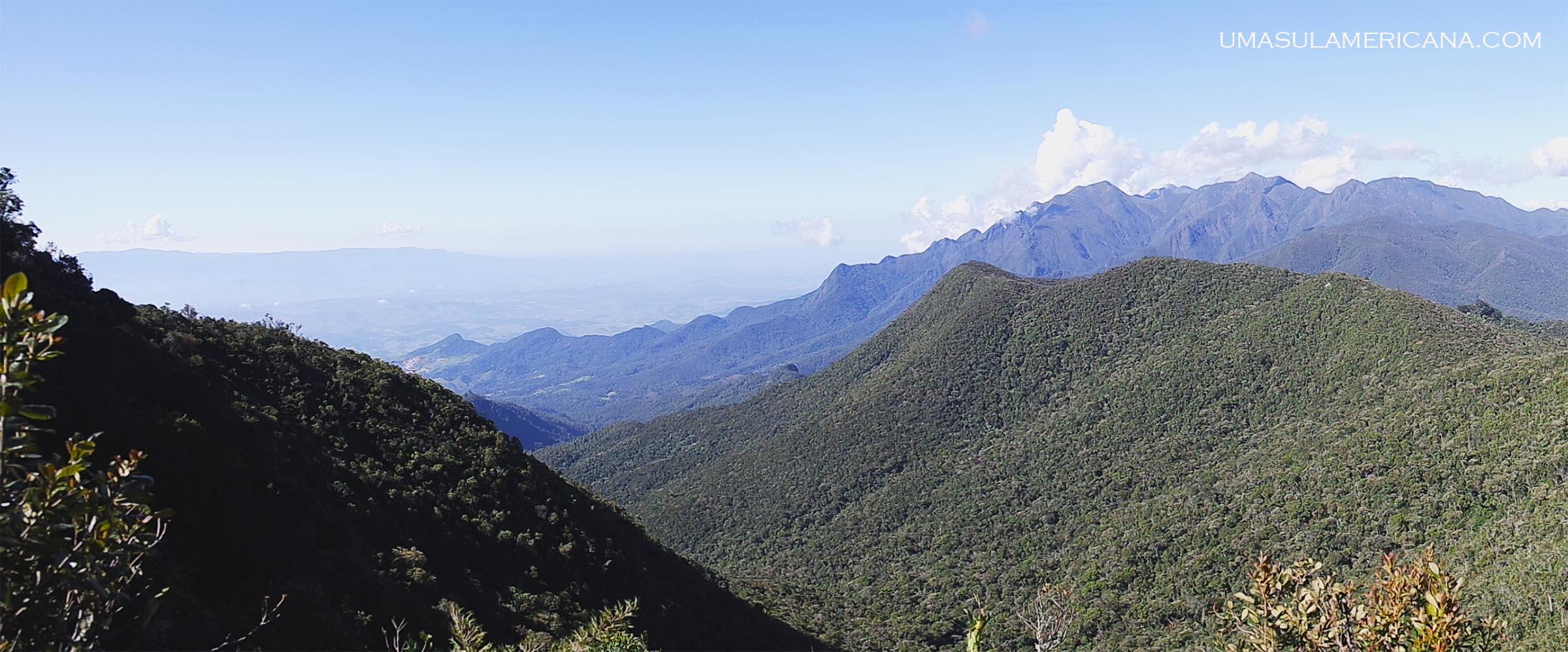 Visão da estrada - Final de semana no Parque Itatiaia - Trilhas na parte alta