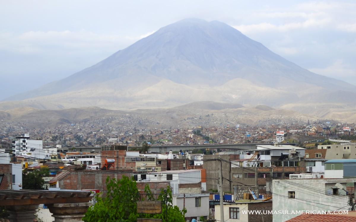 Mirantes em Arequipa - Mirador de Yanahura