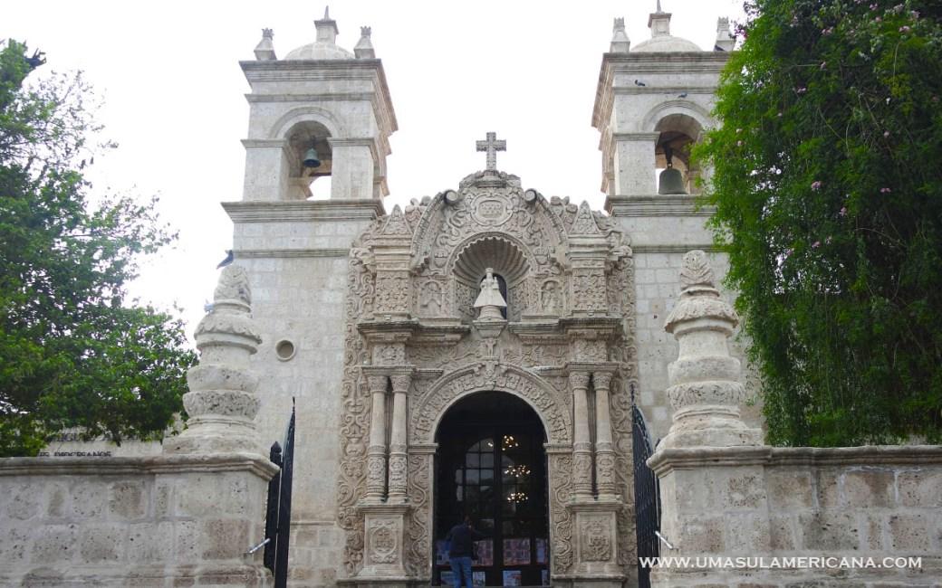 Mirantes em Arequipa - Praça de Cayma