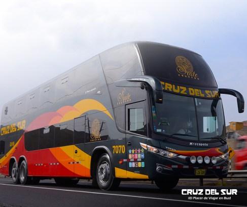Viajar de ônibus pelo Peru - Cruz del Sur