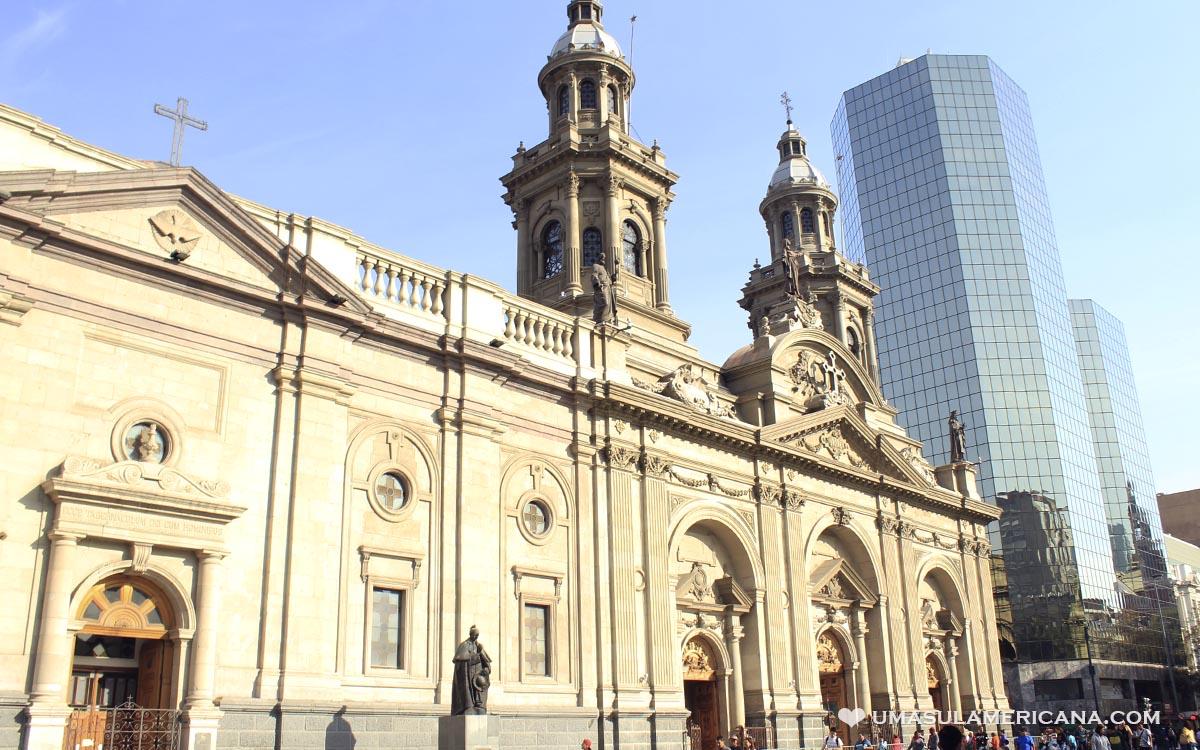 Roteiro de um dia pelo Centro de Santiago