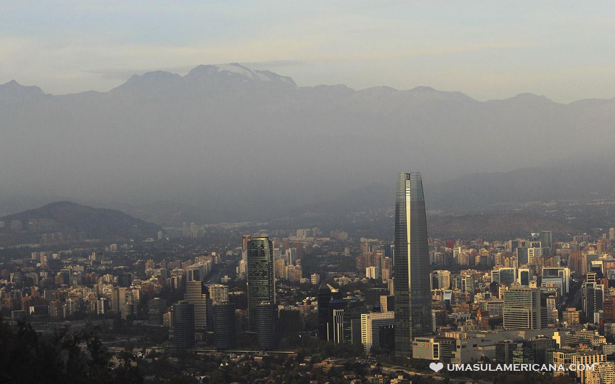 Cerro San Cristóbal em Santiago do Chile - Sky Costanera